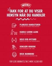 Kundeavis Meny Kongsvinger