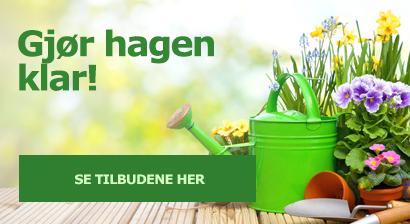 Gjør hagen klar!